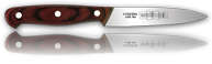 "4"" Chef's Paring Knife with Wolfman Logo"