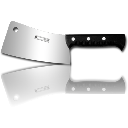 "9"" Cleaver - Rivet, Poly Handle"