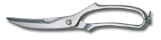 "9"" Poultry Shears - Stainless Steel"