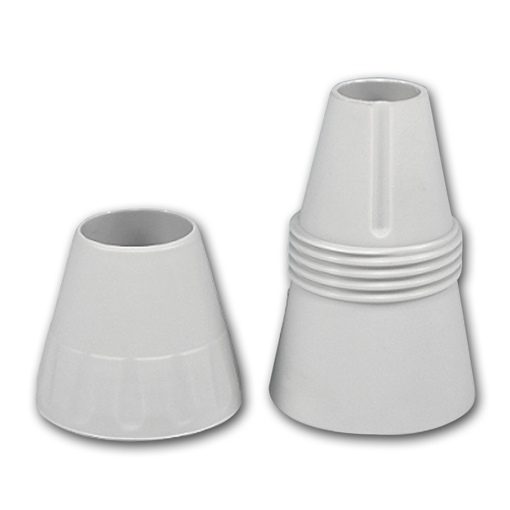 Piping Tip Adapter - Grey